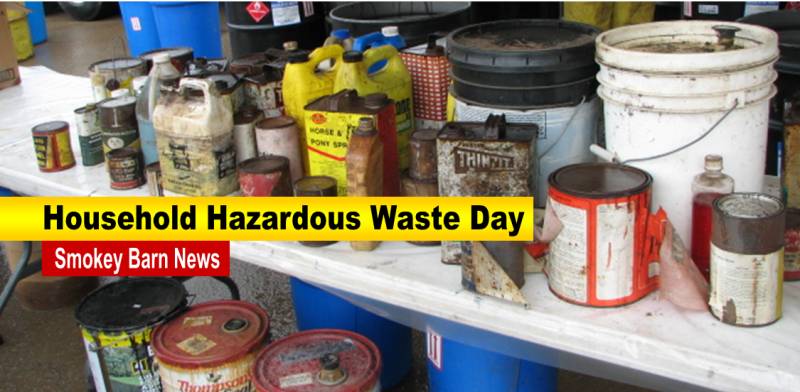 Robertson County Household/Hazardous Waste Day May 9th