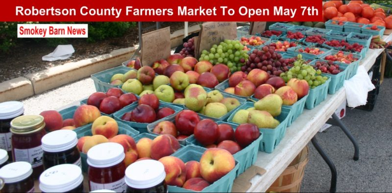 Farmers Market opens May 7th