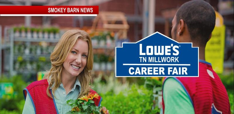 Lowes career fair slider