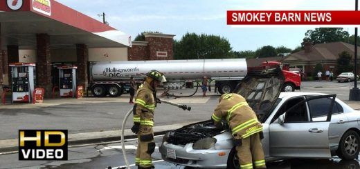 Vehicle Fire Backs Up Traffic in Springfield Wednesday
