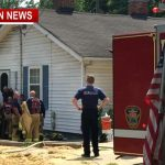 neighbors save couple from home fire