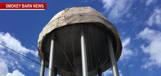 What's Going On At The Springfield 17th Ave Water Tower?