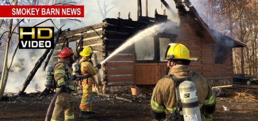 Log Cabin Lost To Fire In Greenbrier Saturday