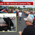 This Saturday: Camaro Show (All Years) & Free Food