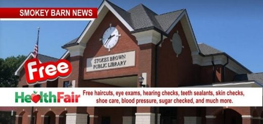 Annual Free Health Fair At Stokes Brown Public Library