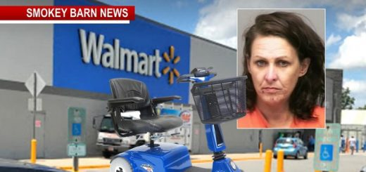 Woman Drives Electric Walmart Cart Home After Car Wouldn't Start