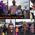 Payne Invites Local Biz/Org's To Participate In Their Truck-N-Treat