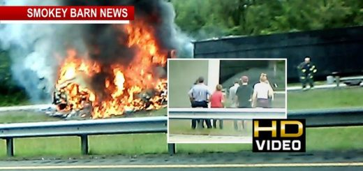 Irma Evacuees Lose Everything In Fiery I-24 Crash