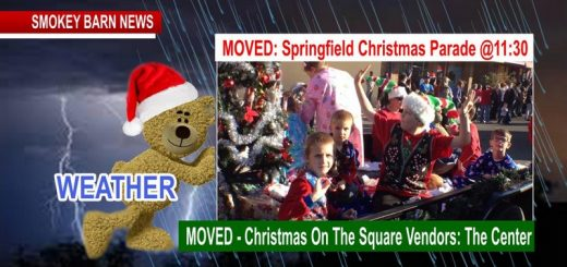 PARADE ALERT: Springfield Christmas Parade & Square Events MOVED Due To Pending Weather