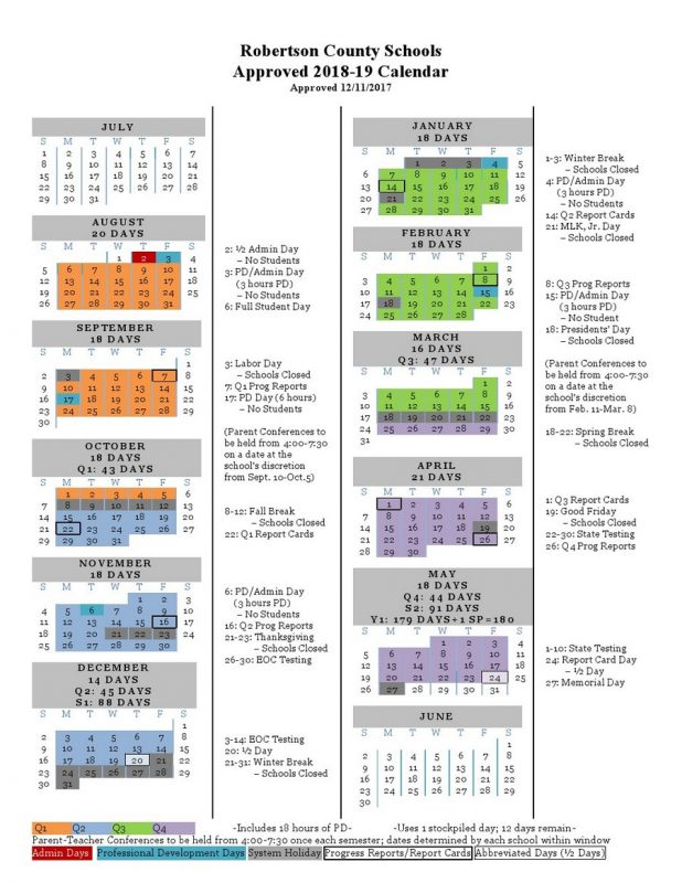 click calendar to enlarge or print