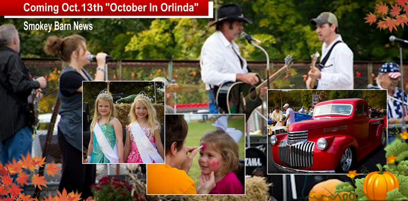 Annual October In Orlinda Festival Coming October 13th